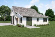 House Plan Design - Farmhouse Exterior - Other Elevation Plan #1070-120