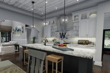 Farmhouse Interior - Kitchen Plan #120-261