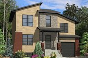 Cottage Style House Plan - 2 Beds 1.5 Baths 1315 Sq/Ft Plan #138-369 Exterior - Front Elevation