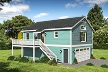 House Plan Design - Country Exterior - Front Elevation Plan #932-253