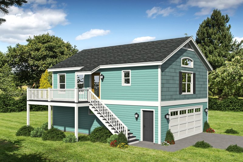 Home Plan - Country Exterior - Front Elevation Plan #932-253