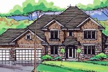 Traditional Exterior - Front Elevation Plan #51-387