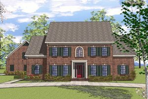 3300 square foot Colonial House plan