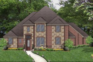 Traditional Exterior - Front Elevation Plan #84-622