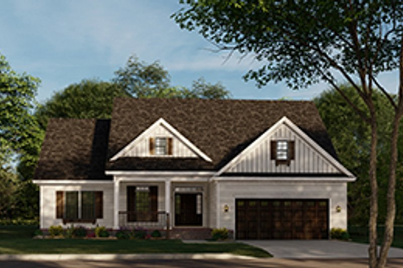Dream House Plan - Traditional Exterior - Front Elevation Plan #17-2693