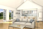 Ranch Style House Plan - 2 Beds 1 Baths 1160 Sq/Ft Plan #497-55 Interior - Other