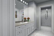 Victorian Interior - Master Bathroom Plan #1060-51