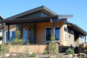 Modern Style House Plan - 3 Beds 2 Baths 1489 Sq/Ft Plan #895-31 Exterior - Other Elevation