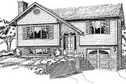 Traditional Style House Plan - 3 Beds 2 Baths 924 Sq/Ft Plan #47-158 Exterior - Front Elevation