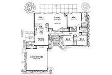 Modern Floor Plan - Main Floor Plan Plan #126-189