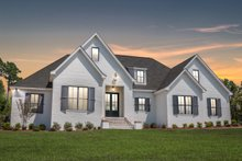 House Plan Design - Ranch Exterior - Front Elevation Plan #430-169