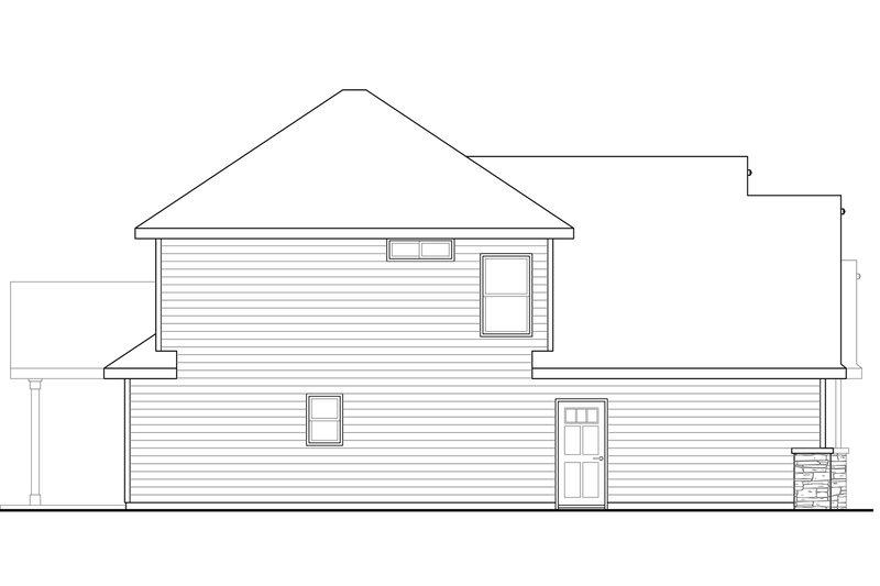 Craftsman Exterior - Other Elevation Plan #124-949 - Houseplans.com