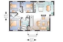 Traditional Floor Plan - Main Floor Plan Plan #23-641