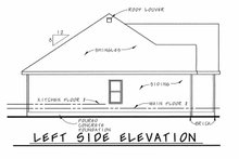 House Plan Design - Traditional Exterior - Other Elevation Plan #20-2371