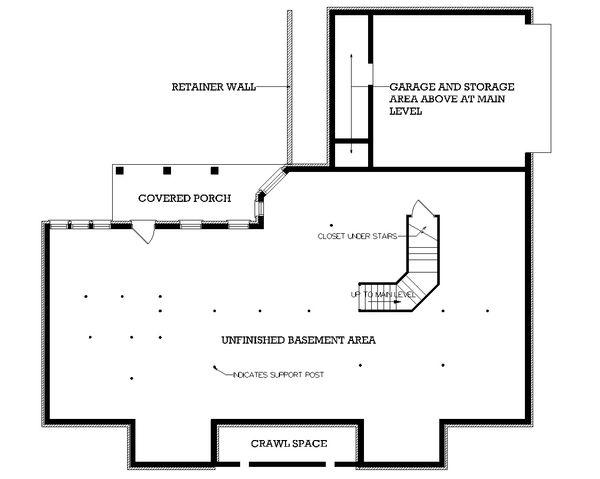 Traditional Floor Plan - Other Floor Plan Plan #45-219