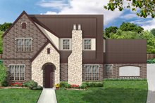 Home Plan - European Exterior - Front Elevation Plan #84-406