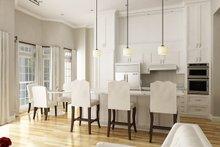Cottage Interior - Kitchen Plan #45-368