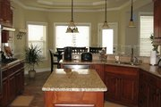 Craftsman Style House Plan - 4 Beds 2.5 Baths 2562 Sq/Ft Plan #437-3 Interior - Kitchen