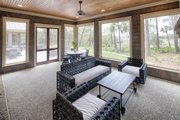 Country Style House Plan - 4 Beds 4.5 Baths 5274 Sq/Ft Plan #928-12 Exterior - Outdoor Living