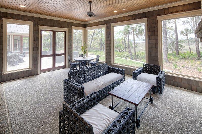 Country Exterior - Outdoor Living Plan #928-12 - Houseplans.com