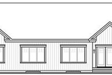 House Plan Design - Traditional Exterior - Rear Elevation Plan #23-787