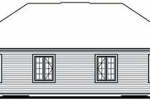 Traditional Exterior - Rear Elevation Plan #23-870