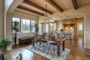 Mediterranean Style House Plan - 4 Beds 4 Baths 3069 Sq/Ft Plan #80-141 Interior - Kitchen