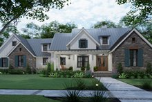 Farmhouse Exterior - Front Elevation Plan #120-270