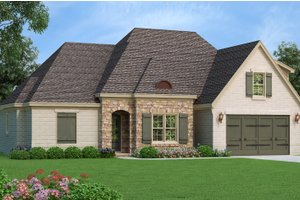 Dream House Plan - Country Exterior - Front Elevation Plan #932-102