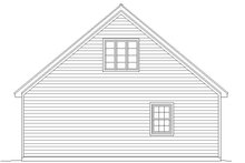 Country Exterior - Rear Elevation Plan #932-132