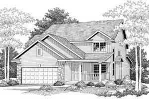 Farmhouse Exterior - Front Elevation Plan #70-579