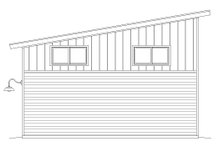 Contemporary Exterior - Rear Elevation Plan #932-193