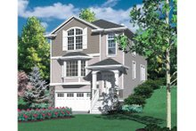 Home Plan - Traditional Exterior - Front Elevation Plan #48-318