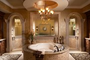 Mediterranean Style House Plan - 5 Beds 5.5 Baths 6045 Sq/Ft Plan #548-3 Interior - Master Bathroom