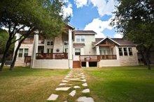 Dream House Plan - Craftsman Exterior - Rear Elevation Plan #80-205