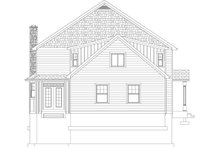 House Plan Design - Farmhouse Exterior - Rear Elevation Plan #1060-44