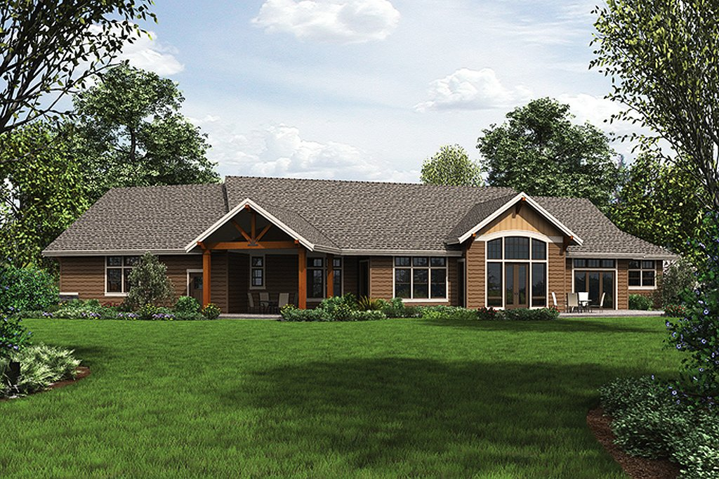 Ranch Style House Plan 3 Beds Baths 2910 SqFt