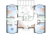 European Style House Plan - 3 Beds 2.5 Baths 3002 Sq/Ft Plan #23-833 Floor Plan - Upper Floor