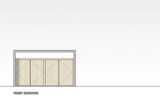 Modern Exterior - Front Elevation Plan #469-3