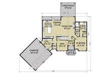 Farmhouse Floor Plan - Main Floor Plan Plan #1070-10