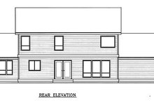 Architectural House Design - Farmhouse Exterior - Rear Elevation Plan #100-202