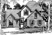 Home Plan Design - European Exterior - Front Elevation Plan #41-140