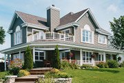 Country Style House Plan - 3 Beds 2.5 Baths 2350 Sq/Ft Plan #23-286