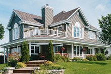 Dream House Plan - Country Exterior - Front Elevation Plan #23-286