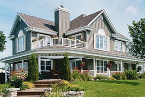 Country Exterior - Front Elevation Plan #23-286