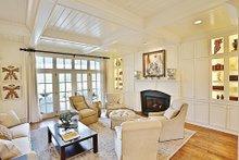 Craftsman Interior - Family Room Plan #927-5