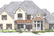 Traditional Style House Plan - 5 Beds 4.5 Baths 4158 Sq/Ft Plan #43-107