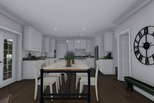 House Plan Design - Traditional Interior - Dining Room Plan #1060-8