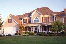 Dream House Plan - Traditional Photo Plan #51-360