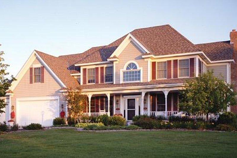 Traditional Photo Plan #51-360 - Houseplans.com